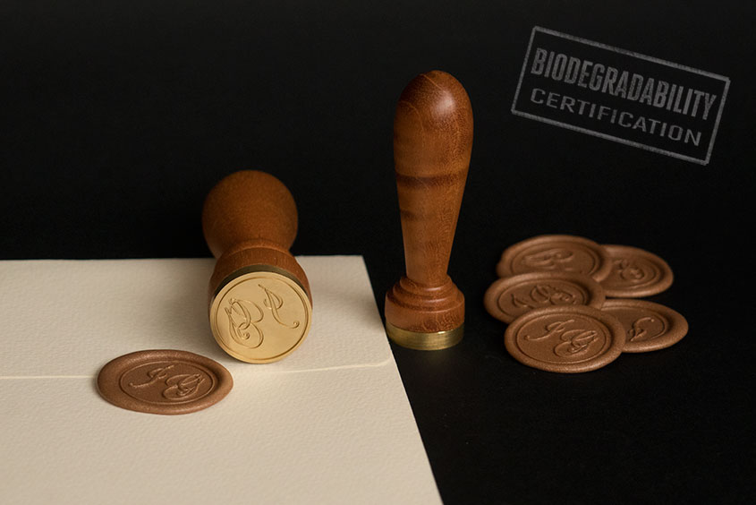 sealing wax seal initials